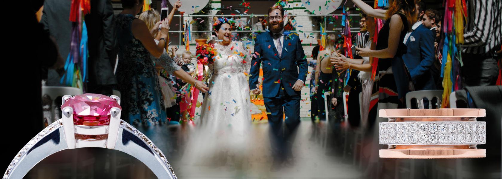 Exclusieve trouwringen, voor exclusief feest